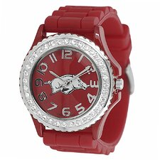 NCAA Women's Rhinestone Accented Watch