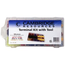 Terminal Set with Crimping Tool