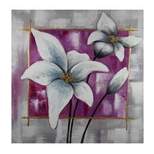 White Flowers Original Painting