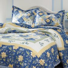 Emilie Pieced Cotton Quilt Set