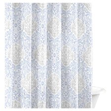 Winchester Cottage Gray Cotton Shower Curtain