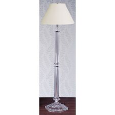 <strong>Laura Ashley Home</strong> Battersby Floor Lamp with Calais Shade