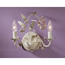 Blossom 2 Light Wall Sconce