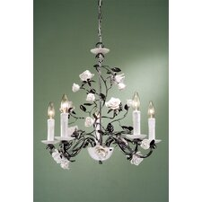 <strong>Laura Ashley Home</strong> Chantilly 5 Light Chandelier