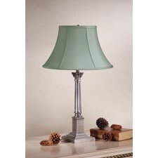 "Corinthian 22.13"" H Table Lamp with Bell Shade"