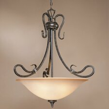 Covey 4 Light Inverted Pendant