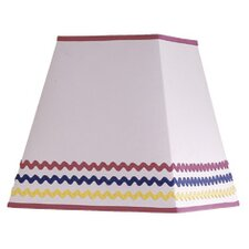 "10"" Cotton Square Lamp Shade"