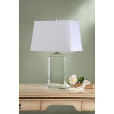 "Henley 26.5"" H Table Lamp with Rectangle Shade"