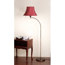Josephine Floor Lamp with Classic Bell Shade