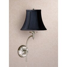 Josephine 1 Light Wall Sconce with Charlotte Bell Shade