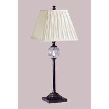 "Keats 30.5"" H Table Lamp with Square Shade"