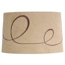 "16"" Ludwig Faux Suede Drum Lamp Shade"