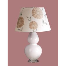 Mavis Table Lamp with Erin Barrel Shade