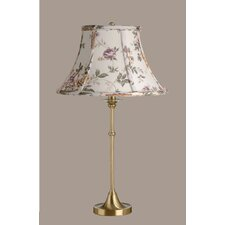 Morgan Table Lamp with Austen Bell Shade