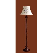 Somerset Floor Lamp with Tia Shade