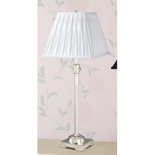 <strong>Laura Ashley Home</strong> State Street Adjustable Table Lamp with Classic Square Shade
