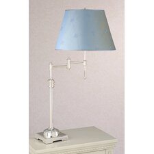 State Street Swing Arm Table Lamp with Lucille Shade