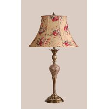 Verona Table Lamp with Angelica Shade