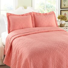 <strong>Laura Ashley Home</strong> Cotton Quilt Set