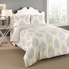 <strong>Laura Ashley Home</strong> Tatton Reversible 3 Piece Comforter Set
