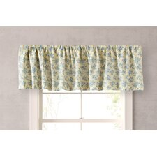 Caroline Cotton Rod Pocket Tailored Curtain Valance