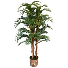 <strong>Laura Ashley Home</strong> Tall High End Realistic Silk Palm Tree in Basket