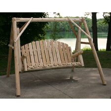 <strong>Lakeland Mills</strong> Country Garden Porch Swing with Stand