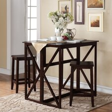 Console to 3 Piece Dining Set