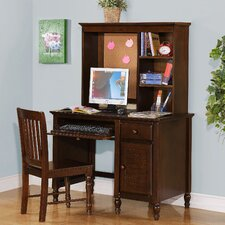 Desk, Hutch and Chair Set