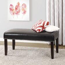 Rowan Nailhead Trim Upholstered Bedroom Bench