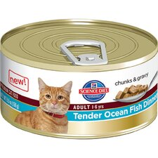 Adult Tender Ocean Fish Dinner Wet Cat Food