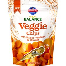 7.1-oz Veggie Chips with Sweet Potatoes and Carrots Dry Dog Food (Set of 12)