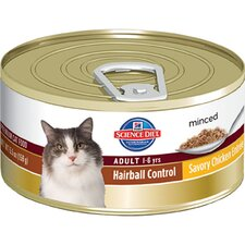 Adult Hairball Control Savory Chicken Entrée Wet Cat Food