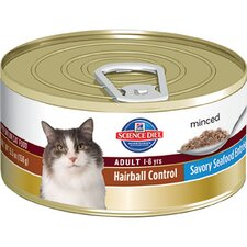 Adult Hairball Control Savory Seafood Entrée Wet Cat Food