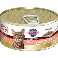Adult Savory Salmon Entrée Wet Cat Food