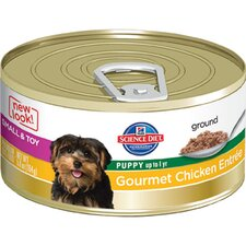 5.8-oz Small and Toy Puppy Gourmet Chicken Entrée Wet Dog Food (Set of 24)