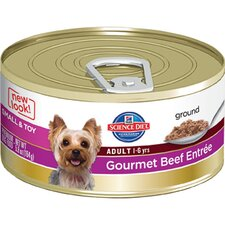 5.8-oz Small and Toy Adult Gourmet Beef Entrée Wet Dog Food (Set of 24)