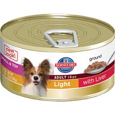 Small and Toy Adult Light with Liver Wet Dog Food (5.8-oz)