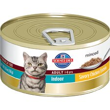 Adult Indoor Cat Savory Chicken Entrée Wet Cat Food