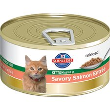 Kitten Savory Salmon Entrée Wet Cat Food