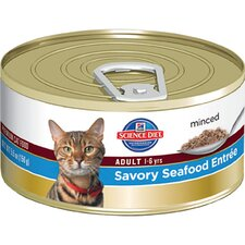Adult Savory Seafood Entrée Wet Cat Food