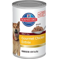 Adult Gourmet Chicken Entrée Wet Dog Food (13-oz)