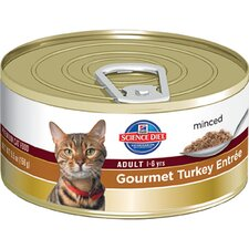 Adult Gourmet Turkey Entrée Wet Cat Food