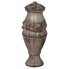 Acanthus Leaves Finial Decorative Urn