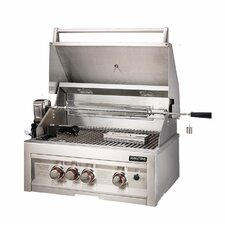 "28"" Gas Grill with 3 Burners Infrared"