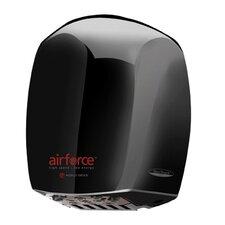 Airforce Hi-Speed 208-240 Volt Hand Dryer in Black