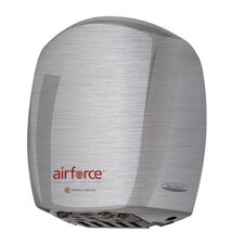 Airforce Hi-Speed 208 / 240 Volt Hand Dryer in Brushed Stainless Steel