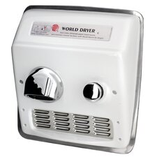Model A Durable 110-120 Volt Hand Dryer in White