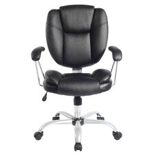 Mid-Back Comfort Soft Managerial Office Chair