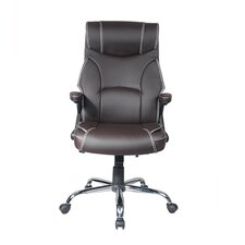 High-Back Reclining Executive Office Chair